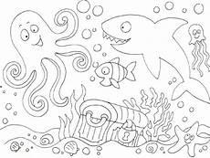 Ausmalbilder Tiere Unter Wasser Malvorlage Linie Weitere Zahlreiche Malvorlagen Finden