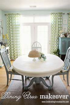 dining room table and chairs makeover with annie sloan