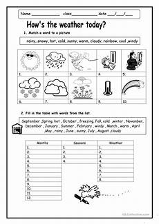 weather words worksheets 14703 how s the weather worksheet free esl printable worksheets made by teachers