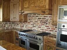 Kitchen Brick Backsplash Masonry Kitchen Salt Lake City By