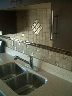 4 quot granite backsplash with tile above recently finished