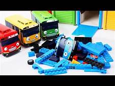 Learn Colors Disney Pixar Cars Tayo Little Bus Garage