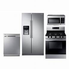 Kitchen Appliances Packages On Sale by Samsung 4 Kitchen Appliance Package With Gas Range