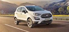 2018 Ford Ecosport Facelift India Launch On November 9 2017