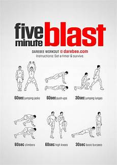 workout of the week 5 minute blast 5 minute workout