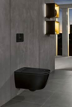 wc schwarz ein dusch wc in tiefem schwarz viclean i 100 black