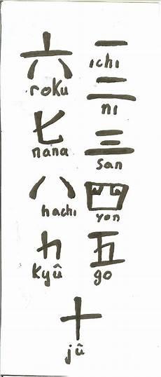 nombres en japonais compter en japonais