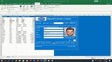 how to insert update delete using excel user form need