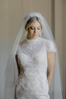 enchanted silver bridal tiara tania maras