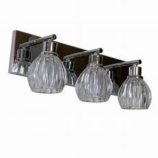 worldwide lighting provence 3 light chrome sconce with