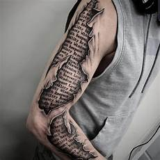 101 amazing ripped skin tattoo ideas that will blow your