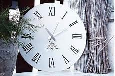 Uhr Malvorlagen Xl Scheunenzauber Shabby Chic Wanuhr Wallclock Wanduhr Xl