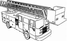 Gratis Malvorlagen Feuerwehrauto Firetruck Coloring Page
