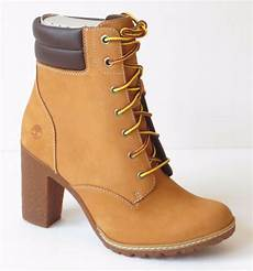 timberland s tillston 6 inch high heel wheat leather