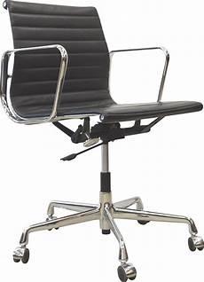 chaise bureau cuir chaise bureau quot ea117 quot vitra en cuir noir charles eames