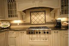 Ceramic Tile Designs For Kitchen Backsplashes Traditional Kitchen Style With White Cabinets And Ceramic