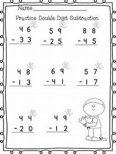 subtraction with regrouping worksheets 1st grade 10659 digit adding subtracting w no regrouping printables second grade math