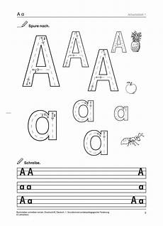 Malvorlagen Buchstaben Lernen Grundschule Unterrichtsmaterial Schriftsprache