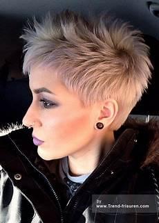 Freche Kurzhaarfrisuren Damen 2017 Haare