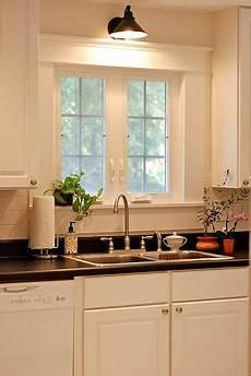 light above kitchen window main floor remodel pinterest