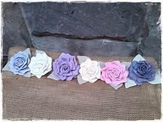 fiori per tende shabby choses e altri fiori di stoffa