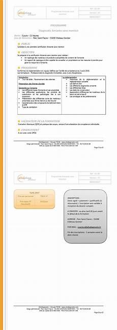 Devis Diagnostic Immobilier Formation Diagnostiqueur Immobilier L 233 Cole Adx