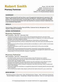 pharmacy technician skills for resume free resume templates