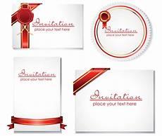 farewell card templates cdr invitation card template ai svg eps vector free