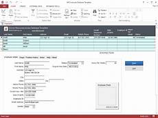 hr employee ms access database template 1 1 0 download