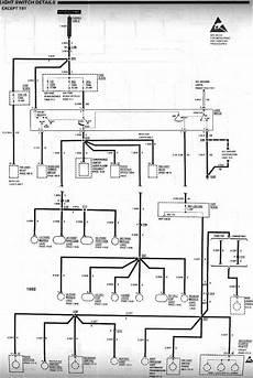 91 Gmc Headlight Wiring by Need 91 92 Headlight Wiring Diagram Third Generation F