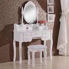 schminktisch mit spiegel und hocker schminktisch mit spiegel und hocker mb6026cm woltu eu