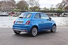 Essai Nouvelle Fiat 500 Mirror Dans L Air Du Temps
