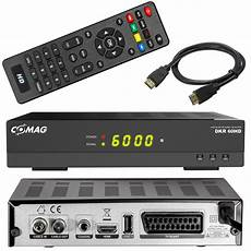 Hd Digital Receiver Kabel - hd kabel receiver mit usb comag dkr 60 digital dvb c scart