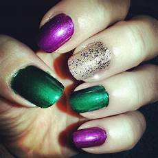 mardi gras nails nail polish nails mardi gras nails