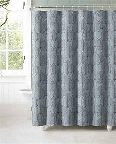 vorhang grau blau blue gray brown autumn leaves jacquard geometric fabric