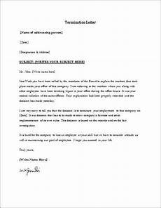 employment termination form template word excel templates