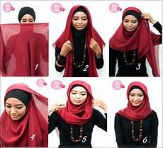 Cara Memakai Jilbab Dalaman Ciput Topi Tutorial