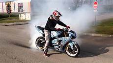 kawasaki zx6r 636 burn 636 kawasaki zx6r 2004 stunt