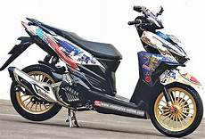 Modif Stiker Vario 150 by Kumpulan Modifikasi Honda Vario 150 Cutting Sticker Dan