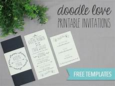 diy tutorial free printable wedding invitation boho