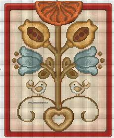 tappeti punto croce albero della vita thun schema punto croce punto croce