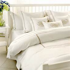 White And Gold Duvet Cover by Chic White Hotel Vintage Bedding Gold Embroidery Duvet