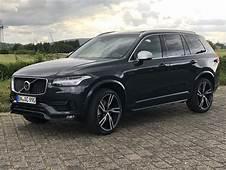Volvo XC90 R Design Modell 2018 Saville Grey Metallic