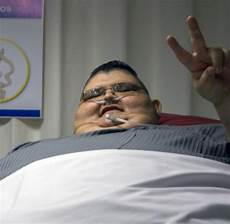 Schwerster Mensch Der Welt - leute dickster mann der welt will h 228 lfte seines gewichtes