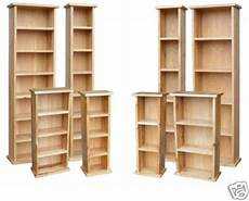 yabbyou new solid oak dvd storage shelf fully built unit