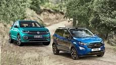 2019 volkswagen t cross 2018 ford ecosport youtube