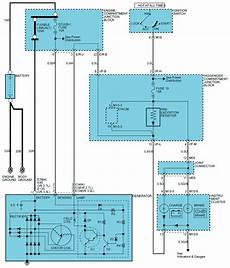 2005 hyundai santa fe wiring diagrams repair guides engine electrical 2004 charging system autozone