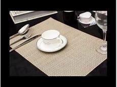 PVC placemat easy clean breakfast lunch dinner placemats
