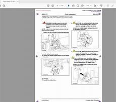 car repair manuals online pdf 2008 ford f250 instrument cluster ford fiesta 2008 2017 full service manuals auto repair manual forum heavy equipment forums