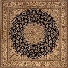 tappeti quadrati tappeto nain mollaian tappeti orientali